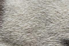 白色纺织品纹理 库存图片