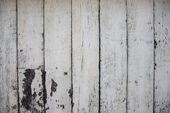 白色绘了木板照片纹理 背景自然木头 困厄的概略的木材板 免版税图库摄影