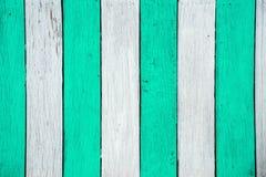 白色绿色木纹理背景表面 库存图片