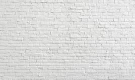 白色老砖墙都市背景 免版税库存图片