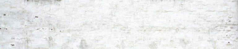 白色老膏药墙壁背景 免版税库存照片