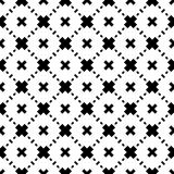白色背景和黑色repeted光点图形 免版税库存图片