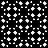 白色背景和黑色repeted光点图形. 风扇, 对角.图片