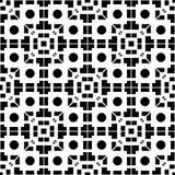 白色背景和黑色repeted光点图形 免版税库存照片