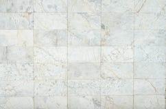 白色背景大理石墙壁纹理 免版税库存照片