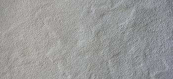 白色脏的涂灰泥的水泥混凝土墙背景纹理横幅 库存照片