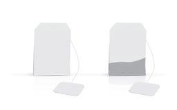 白色茶箱子 免版税图库摄影