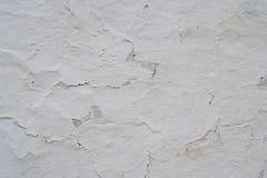 白色葡萄酒墙壁背景 免版税库存图片