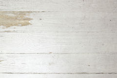 白色葡萄酒被风化的破旧的木板条背景 免版税库存照片