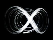 白色螺旋摘要 图库摄影
