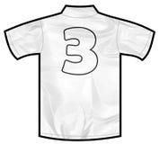 白色衬衣三 库存照片