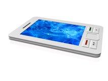 白色通信装置 向量例证