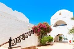 白色阿拉伯房子 免版税库存照片