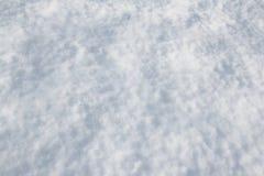 白色雪纹理 免版税库存照片