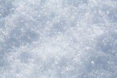 白色雪花 图库摄影