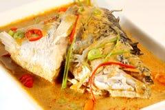 白色鱼kare 库存图片