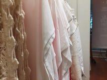 白色织品 免版税库存图片