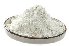 白色黏土粉末 免版税库存图片