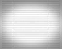 白色水平的窗帘窗口装饰内部 库存图片