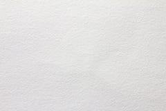 白色水彩纸纹理背景 库存照片