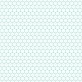 白色&水色蜂窝样式,无缝的纹理背景 库存照片
