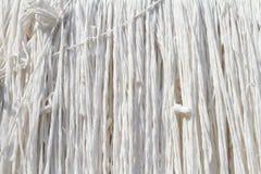 白色绳索 免版税库存图片