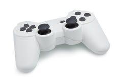 白色Gamepad 免版税图库摄影