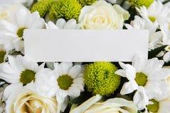 白花花束 库存照片