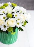 白花花束 图库摄影