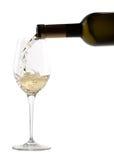 白葡萄酒 免版税库存照片