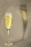 白葡萄酒 图库摄影