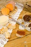 白薯季节性蜜饯 库存图片
