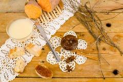 白薯蜜饯 库存照片