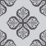 黑白装饰品样式 免版税库存照片