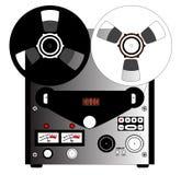 黑白记录器 免版税图库摄影
