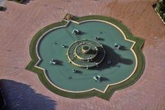 白金汉喷泉在格兰特公园,芝加哥,伊利诺伊 库存图片