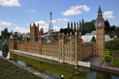 白金汉宫伦敦模型  库存照片
