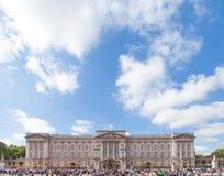 白金汉宫伦敦英国 免版税库存照片