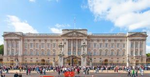 白金汉宫伦敦英国 图库摄影