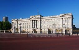 白金汉宫在伦敦 库存照片