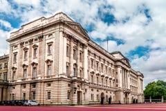 白金汉宫在伦敦 库存图片