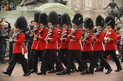 白金汉宫,伦敦,英国- 2012年9月30日 免版税图库摄影