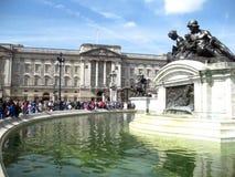 白金汉宫,伦敦-储蓄图象 图库摄影