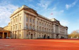 白金汉宫,伦敦 免版税图库摄影