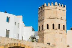 白银塔在塞维利亚,西班牙 库存图片
