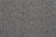 黑白镶边棉花聚酯纹理 库存照片