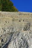 白陶土矿细节 库存图片