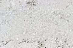 白水泥墙壁纹理  库存照片