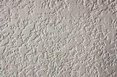 白水泥墙壁表面 库存照片