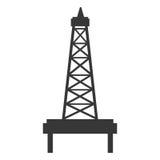 黑白petro塔,向量图形 皇族释放例证